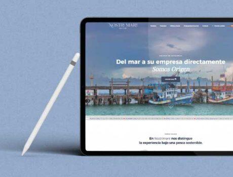 Diseño web Pesca