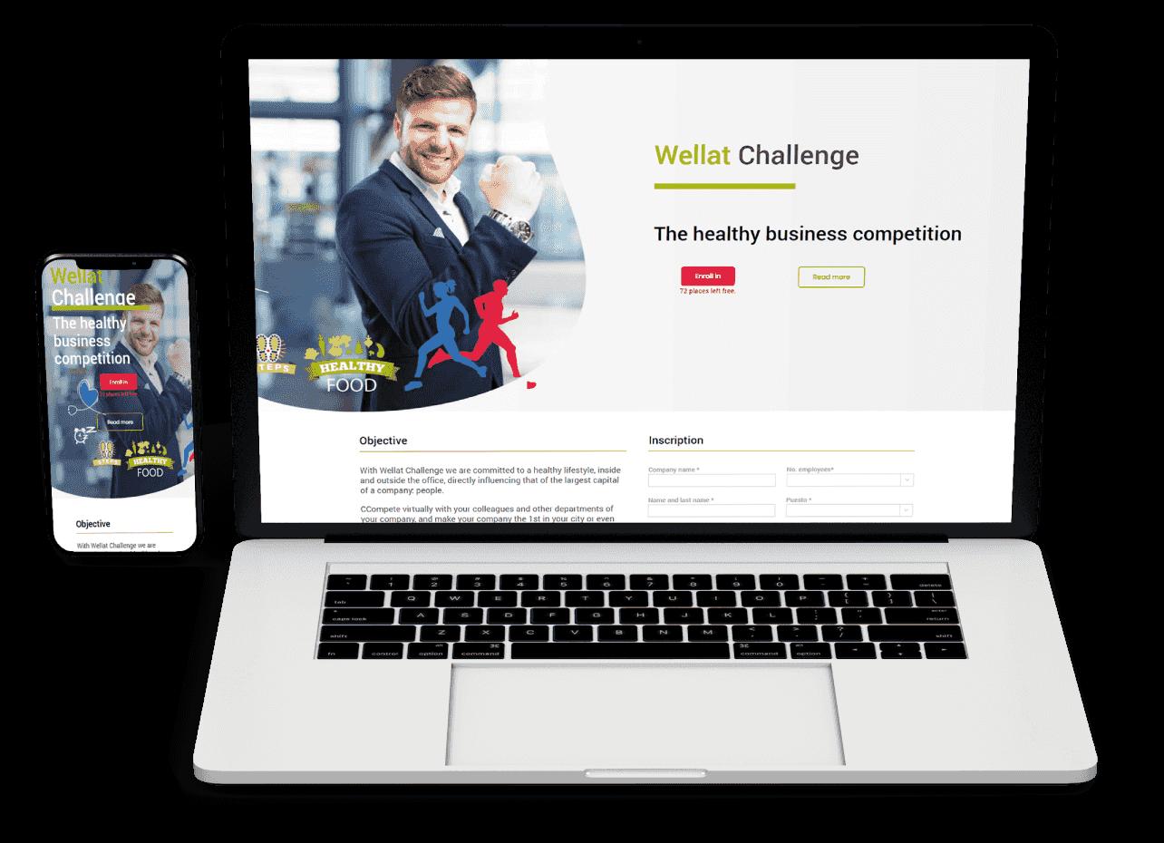 web-landing-negocios-page